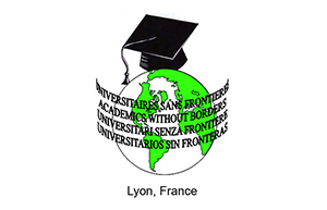 Logo for Universitaires Sans Frontieres Lyon